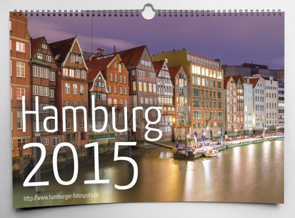 Hamburg Wandkalender 2015