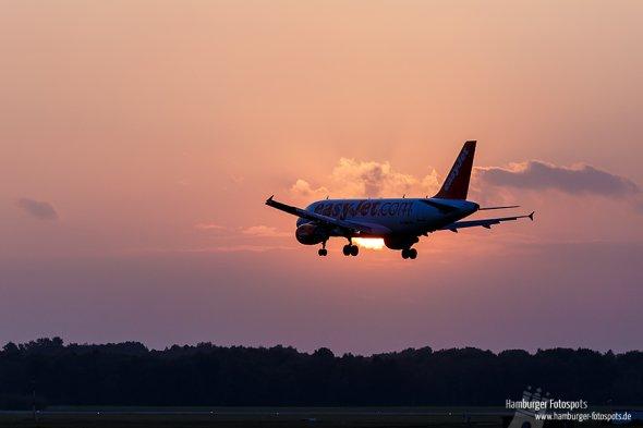 Flugzeug von der Seite