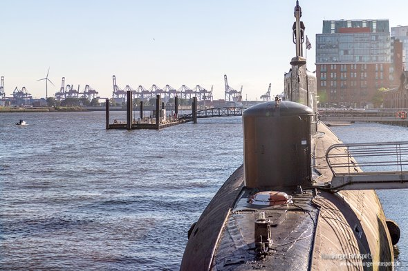 Neuer Fotospot: U-Boot-Museum U-434 am Hamburger Fischmarkt