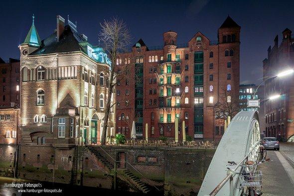 Fotos bei Nacht sehen wegen der vielen Lichter besonders in Städten sehr ansprechend aus.