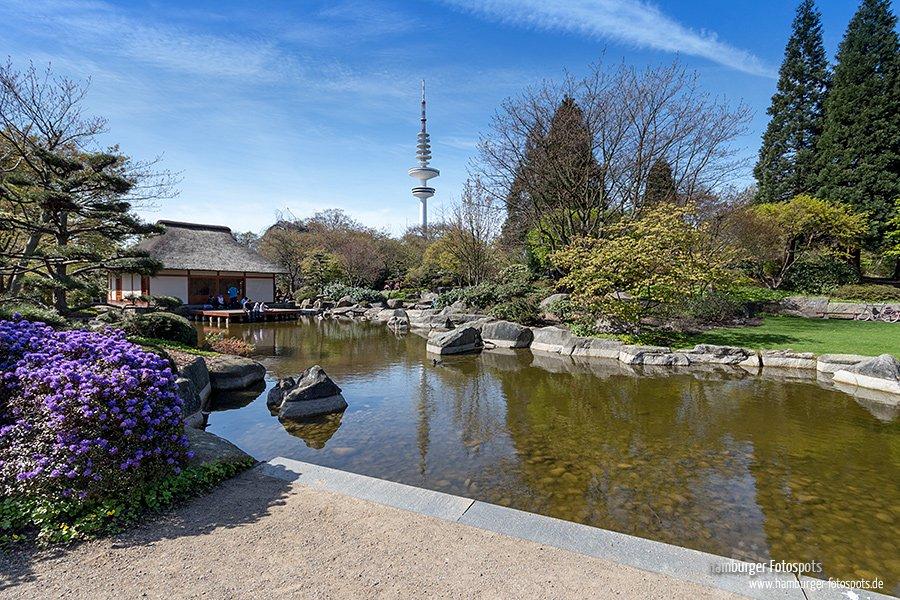 Japanischer Garten Mit Teehaus