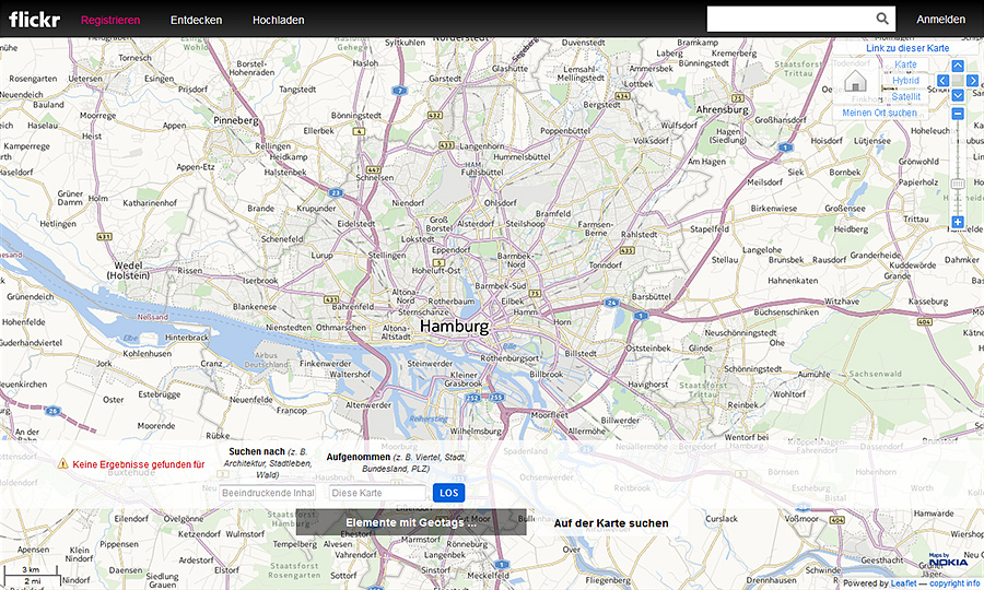 Flickr Map