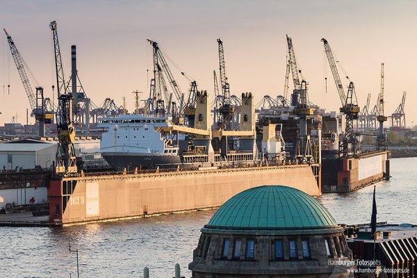 Dock 10 von Bloom+Voss bei den St. Pauli Landungsbrücken (2013)